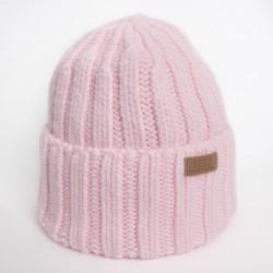 шапки утепленные вязаные
